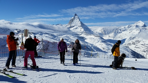 Zermatt Ski Resort by: Aelfrith