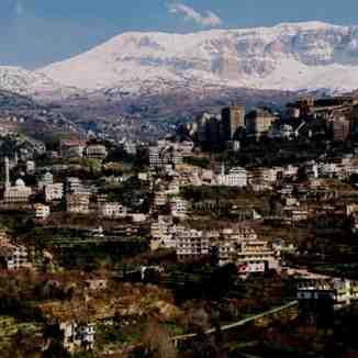 Lebanon / bakhoun Dannieh, Mzaar Ski Resort