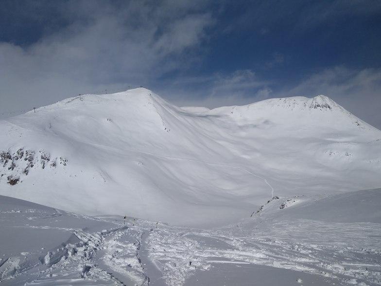 view to Sadzele, Gudauri