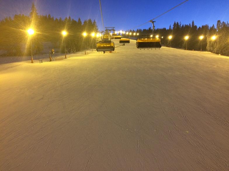 Białka Tatrzańska snow