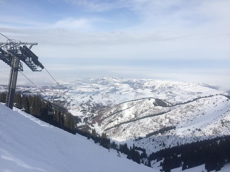 Ak-Bulak snow