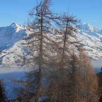 Mont Blanc, La Plagne