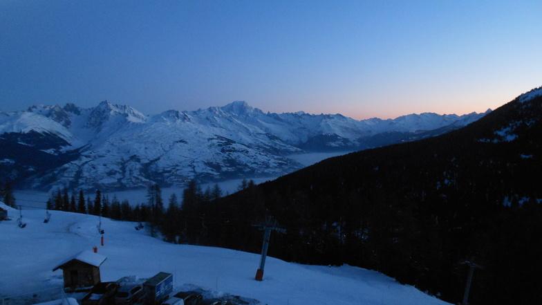 Dawning, La Plagne
