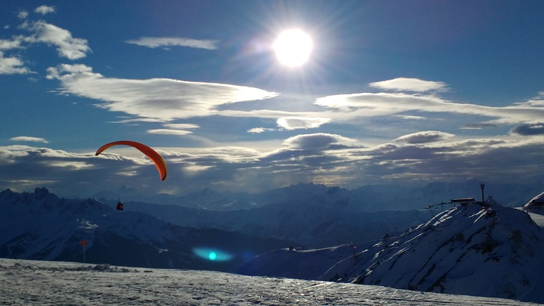 Flying ..., La Plagne