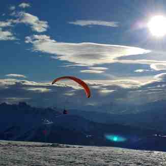 Flying ..., La Plagne