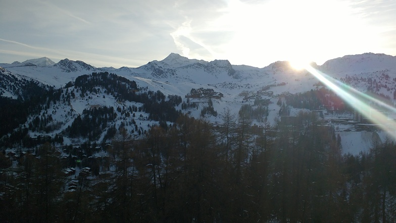 Sunrise, La Plagne