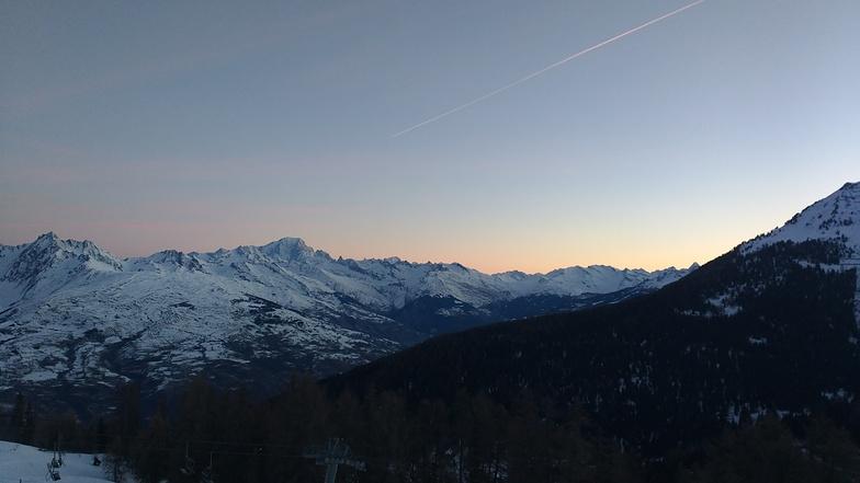 will be a nice day !, La Plagne