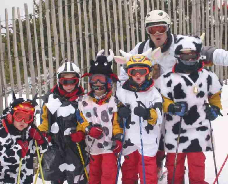 MASELLA .... cows kattle visited us on Carnival