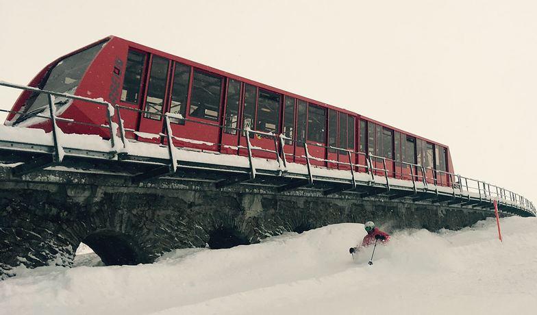 The Standard Ersatz on Parsenn, Davos