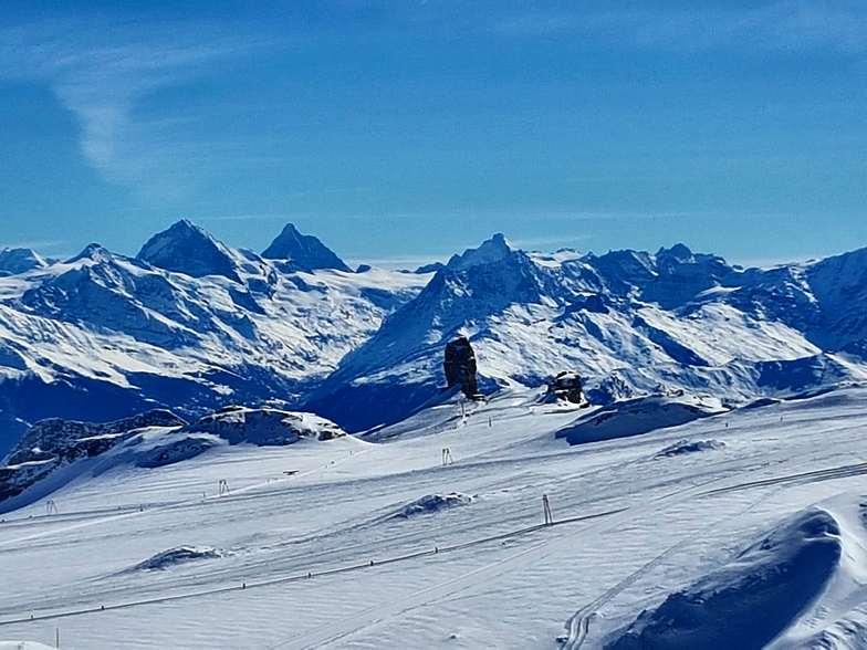 The Matterhorn, Gstaad Glacier 3000