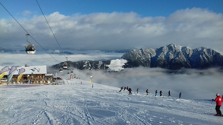 above the clouds, Alpbachtal