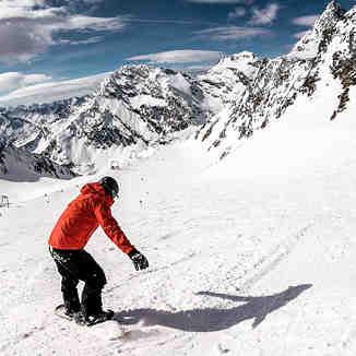 Stubai Snowboarding, Stubai Glacier