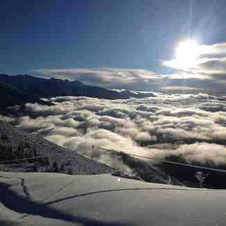 mer de nuages venanson, La Colmiane