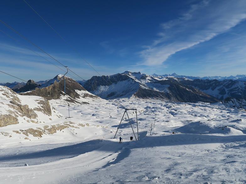 緩斜面オンリー!, Gstaad Glacier 3000