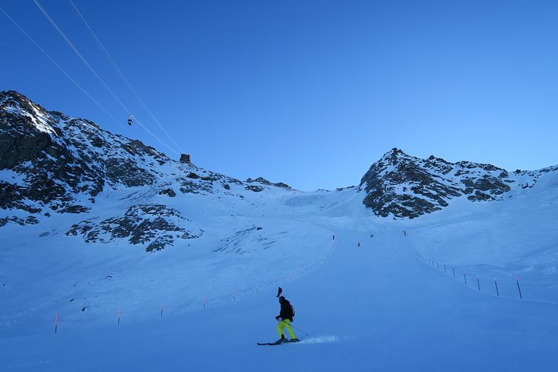 雪が無いベルビエ, Verbier
