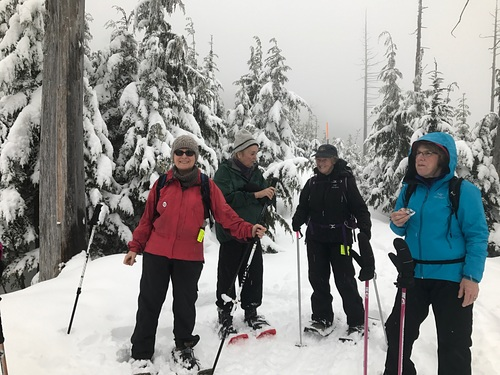 Cypress Mountain Ski Resort by: Carol Jackson