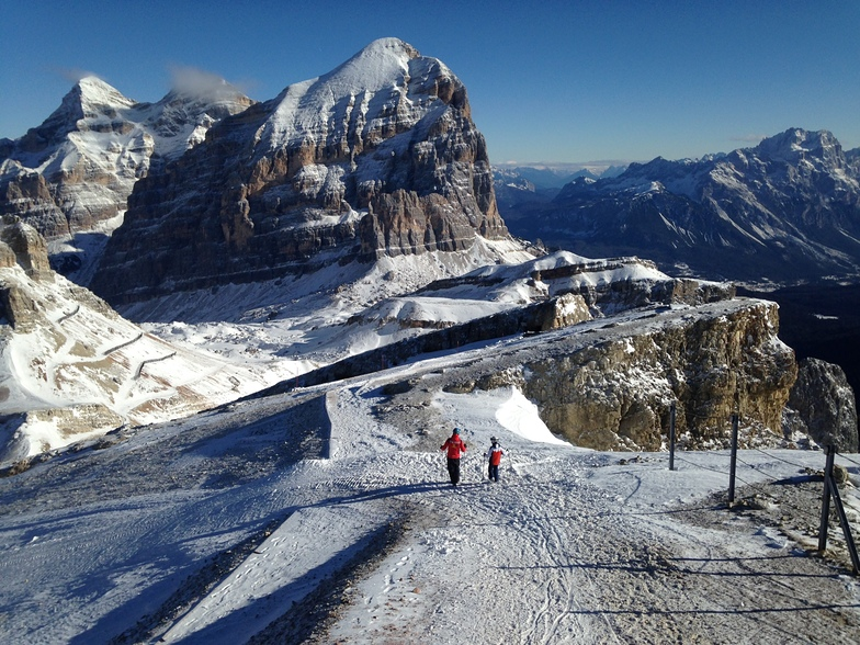 Top of The Hidden Valley (Lagazuoi), Cortina