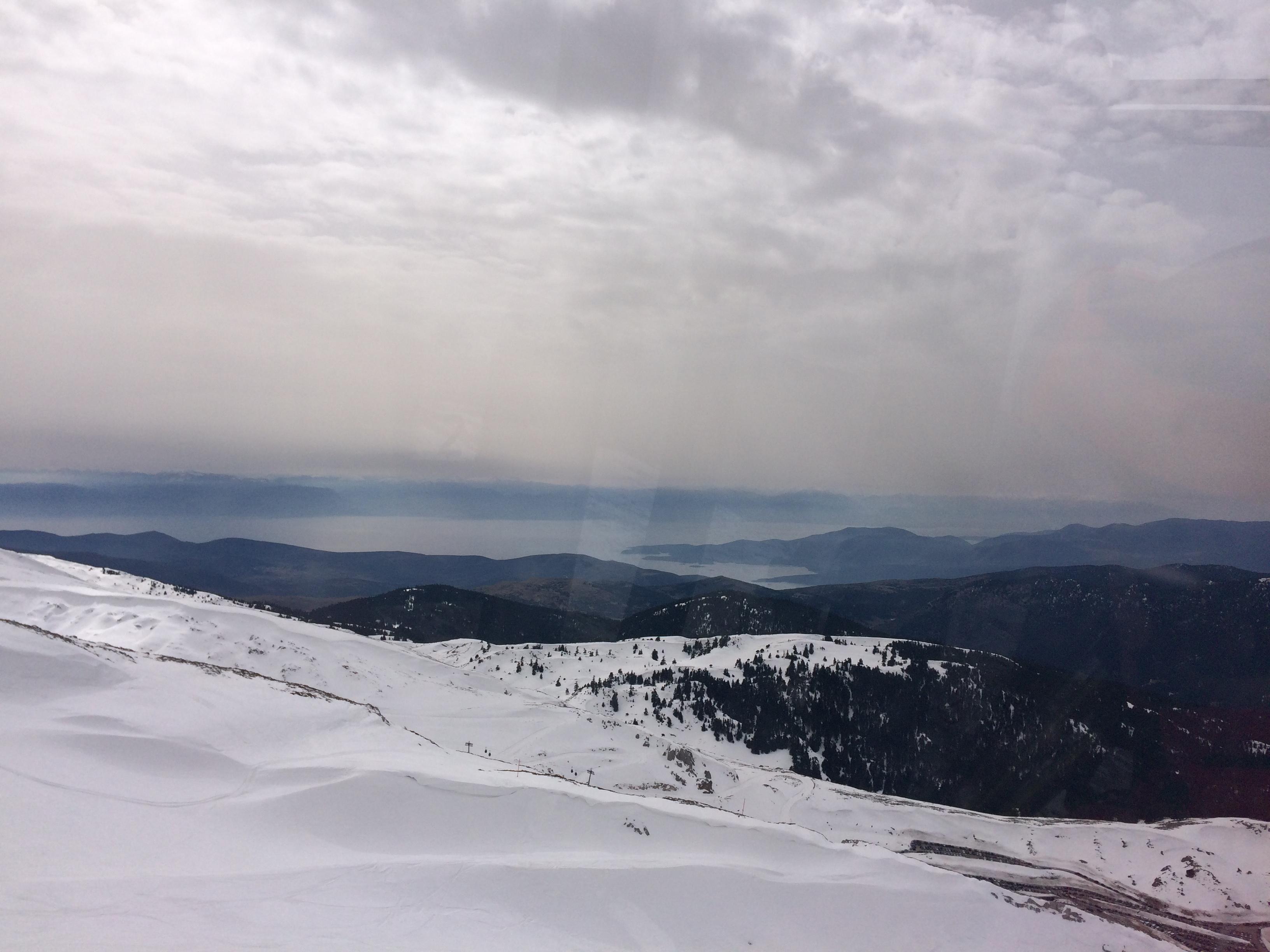Der Horizont, Mt Parnassos-Fterolaka