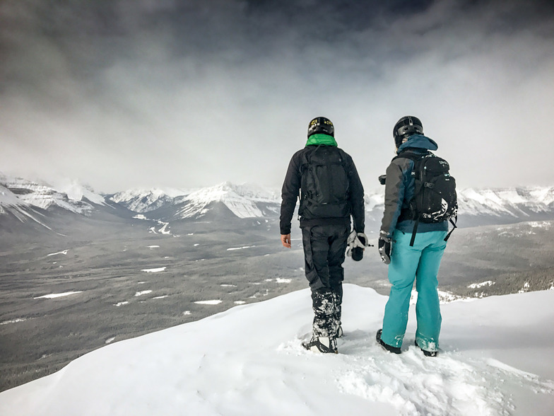 Mt. Whitehorn Summit, Lake Louise
