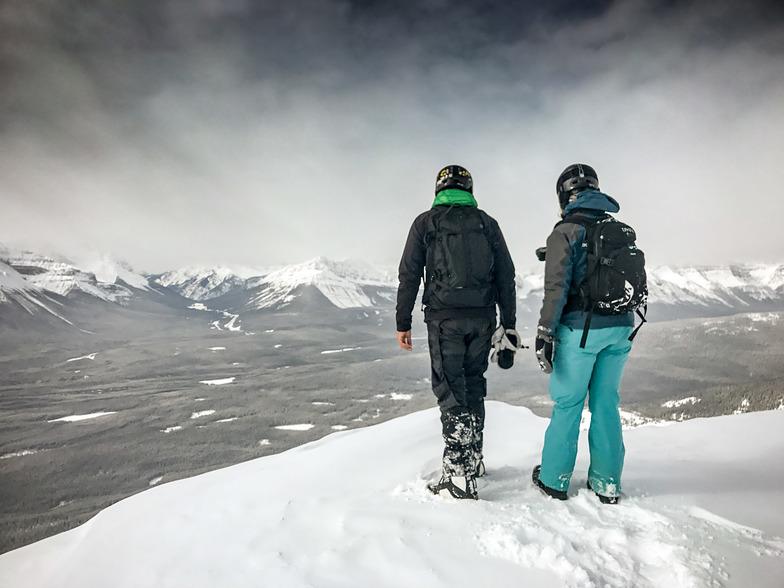 Mt. Whitehorn Summit, Lake Louise
