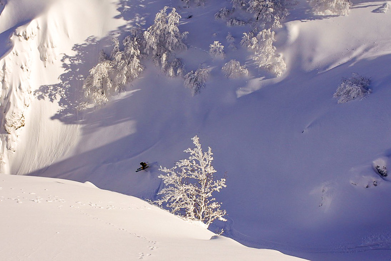 Skier in Rocarasso, Roccaraso
