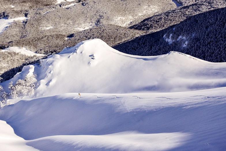 Fresh tracks in Italian Ski Resort, Roccaraso