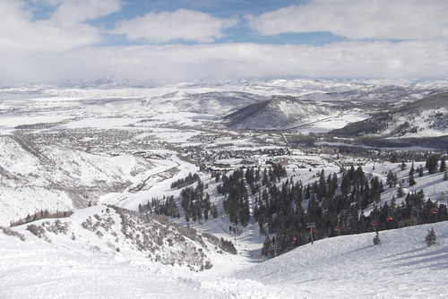 The Canyons Ski Resort by: Doug Parker