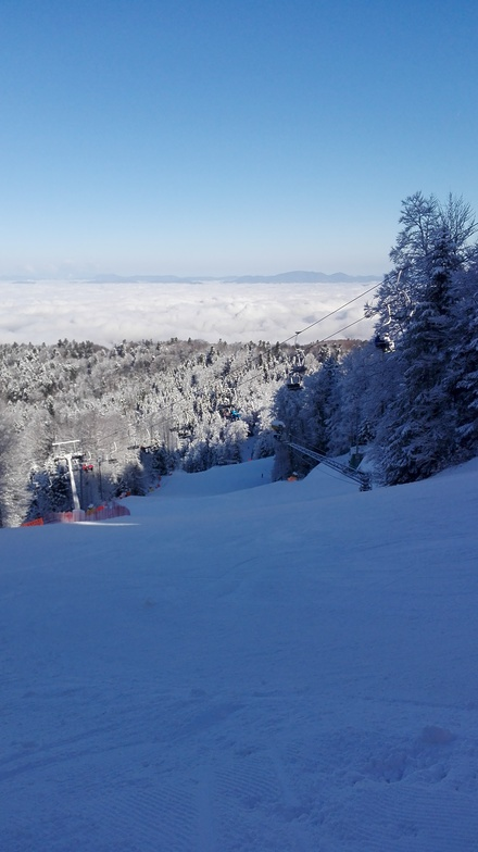 Sljeme-Red slope