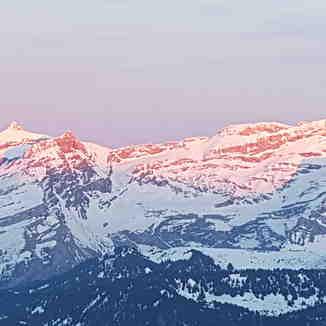 Glacier of Diablerets, Leysin