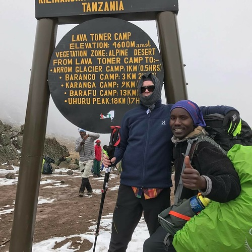Mount Kilimanjaro Ski Resort by: Mr Joakim Stafsén (Sweden)