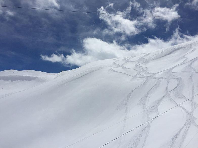 Fresh snow in Dizin