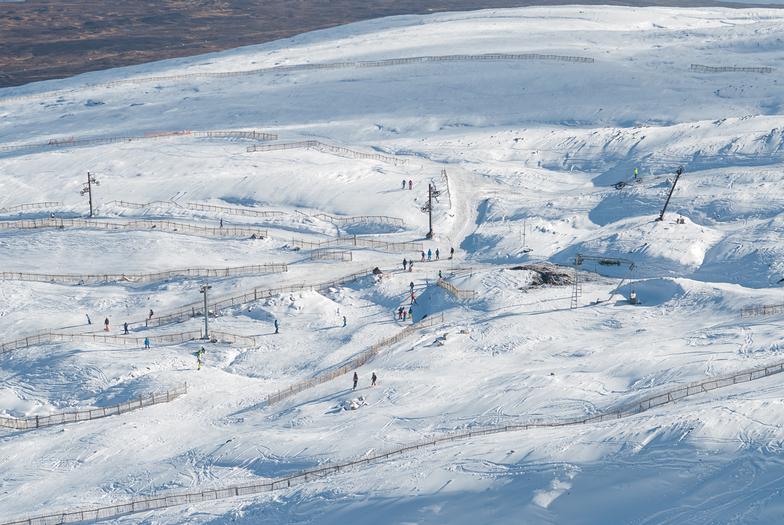 Snow at Glencoe Mountain, Glencoe Mountain Resort