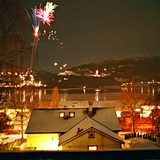 Voss at New Year (2), Norway