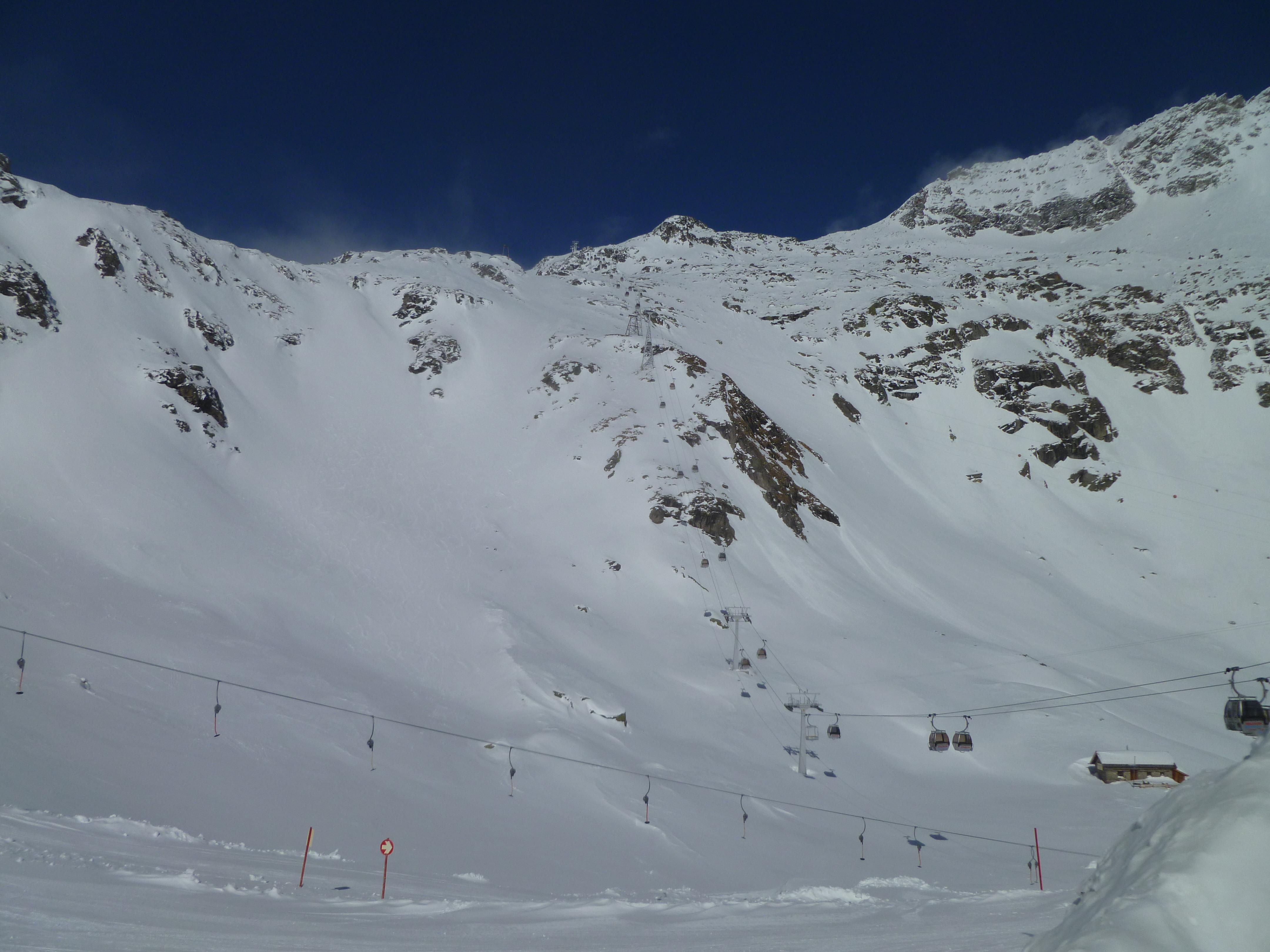 weiß blau, Mölltaler Gletscher