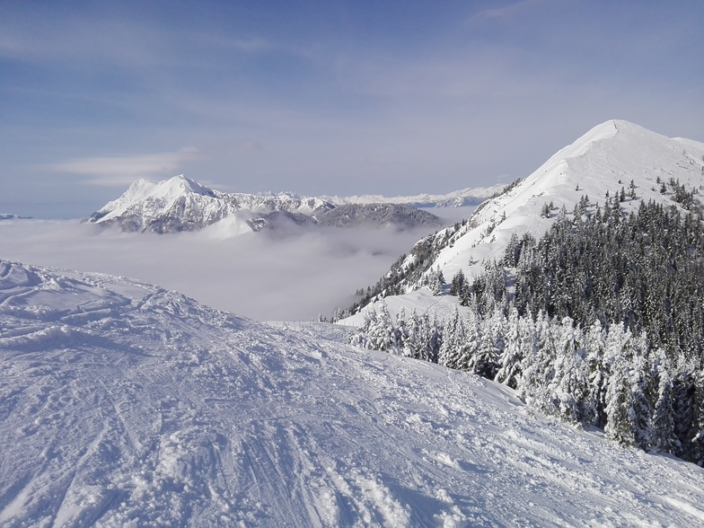 Just me and snow, Soriska Planina