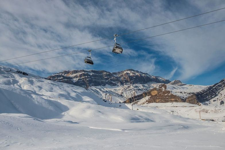 Shahdag Mountain Resort - chair lifts