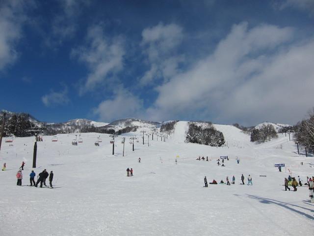 Togari Onsen snow