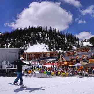 Long weekend sunny relaxing Sunshine, Sunshine Village