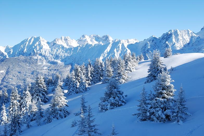 Les 7 Laux snow