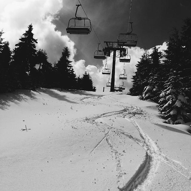 Ještěd snow