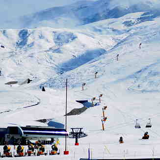 Lift Base, Shahdag Mountain Resort