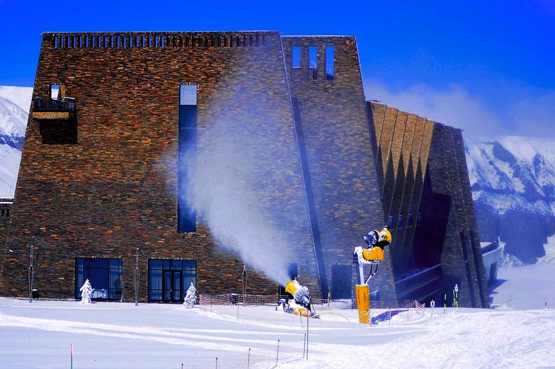 Snow, Shahdag Mountain Resort