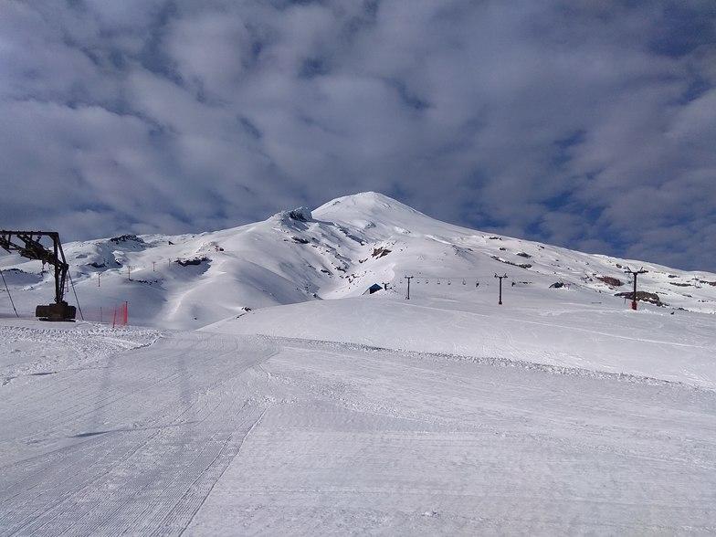 Pretty volcanic mountain, Villarrica-Pucon
