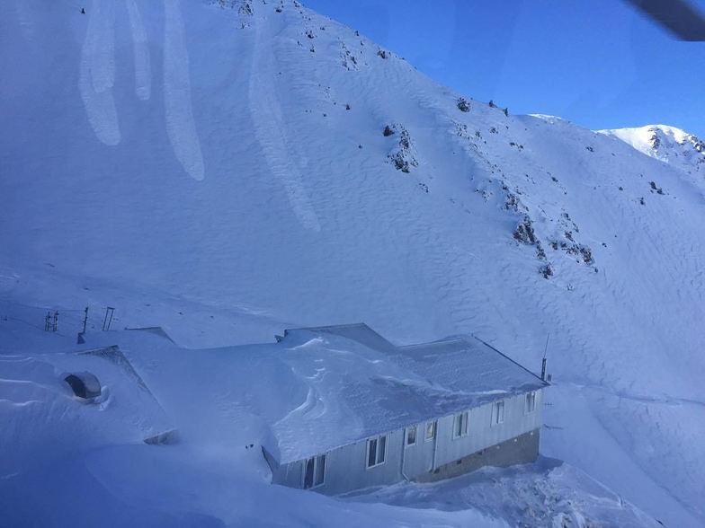 Mount Olympus snow