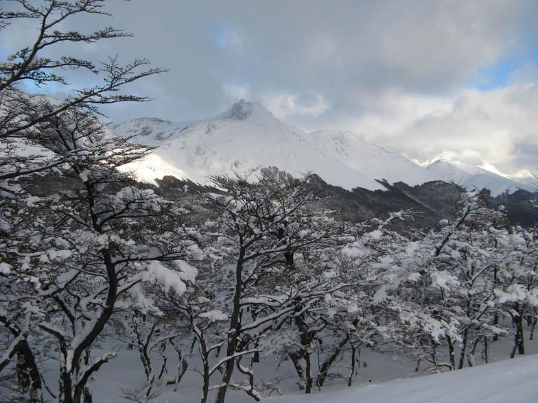 Paisaje encantado, Cerro Castor