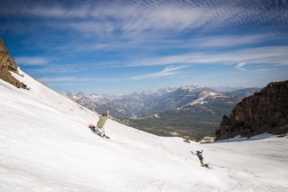 Mammoth Mountain Snowboarding