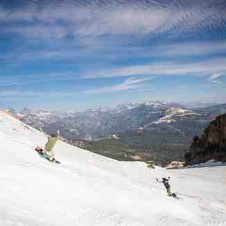 Mammoth Mountain Snowboarding