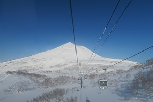 Mysterious beauty Mt.Annupuri, Niseko Village photo