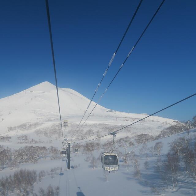 Mysterious beauty Mt.Annupuri, Niseko Village