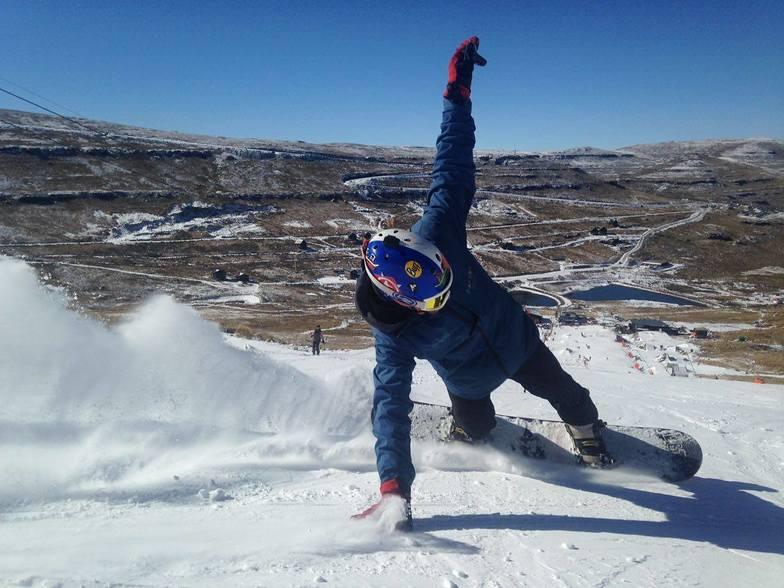August 2017 snowfall in Lesotho, Afriski Mountain Resort